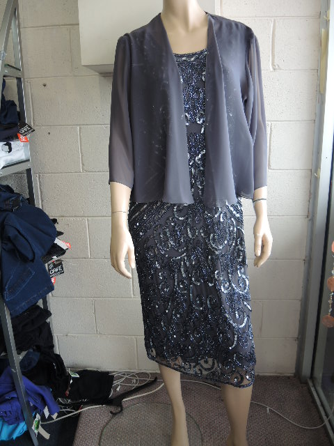 LAURA K BEADED DRESS, PLUS SIZE MOTHER OF THE BRIDE